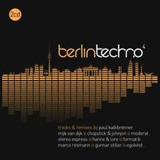 CD Berlin Techno 4 von Various Artists 2CDs