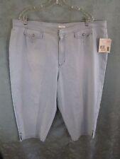 Liz Claiborne TABITHA Cropped Jeans NWT Plus Size 22WP