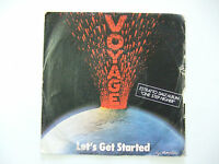 Voyage ‎– Let's Get Started / One Step Higher-Copertina Per Disco Vinile 45 Giri