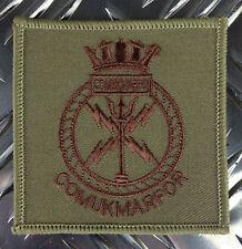 Genuine British Army ROYAL MARINES COMMANDO - COMUKMARFOR Patch / Badge x 2 NEW