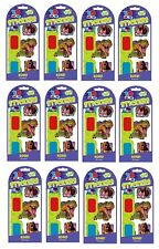 12 Packs 3D Animal Stickers with 3d Glasses Peaceable Kingdom