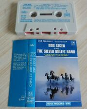 K7 CASSETTE AUDIO TAPE BOB SEGER AND THE SILVER BULLET BAND AGAINST THE WIND