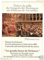 Publicité - cpsm - Les grandes heures du Parlement Paris 1999 (H5236)