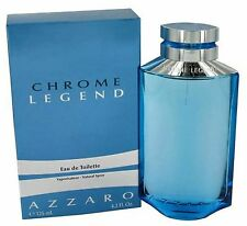 Chrome Legend for Men Eau de Toilette 4.2oz / 125ml by Azzaro NIB SEALED