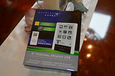 "Pandigital Novel PRD06E20WWH8 6"" Personal eReader 2GB WiFi Connectivity"