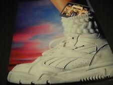 MICHAEL JACKSON 1992 Promo Poster Ad mini disc of DANGEROUS stuck inside sock