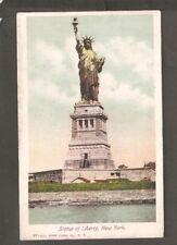 Vtg Postcard Statue of Liberty New York NY Undivided Back Early