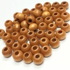 15mm Findings 24 Vintage Wooden Beads Made In Germany Vintage Wooden Bead B44
