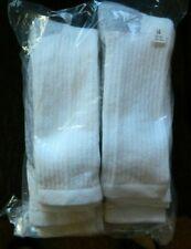 Wigwam 6 pack mens 2XL (15-17) white athletic socks(Slight imperfect