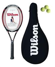 WILSON Enforcer 100 Racchetta da tennis + VALIGETTA + 3 PALLINE da tennis rrp £ 80 (L4)