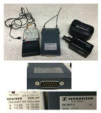 Sennheiser SK50-UHF/EK3041-U/SKP30 Transmitter Receiver 704-300 727-500Mhz