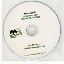 (EH606) Mister Jack, Pretty Damn Cool - 2010 DJ CD