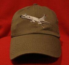 USAF KC-135R Stratotanker ball cap, low-profile Olive Drab aviator hat