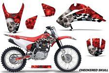 Honda CRF 150/230F Graphic Kit AMR Racing Decal Sticker Part 03-07 CHCKRD SKULL