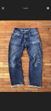 Levis vtg Big E 501XX LVC 1955 selvedge redline jeans 34/36 (fit 32/34) USA made