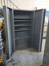 "Durham Heavy Duty Storage Cabinet  14 Ga. Steel 72"" H x 36"" W x 25"" D"