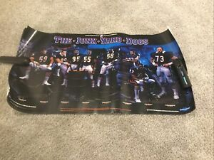 Lot of 8 CHICAGO BEARS POSTER 1985 SUPER BOWL CHAMPIONS JUNK YARD DOGS Hampton