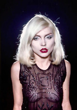 BLONDIE DEBBIE HARRY JOB LOT FIVE 8 X 11 INCH LAMINATED PHOTOGRAPHS HOT SEXY