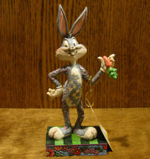 "Jim Shore Looney Tunes #4049382 BUGS BUNNY ""WHAT'S UP DOC?""  7.25"" New/Box"