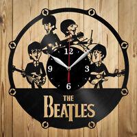 Details about  /Genesis Vinyl Record Wall Clock Decor Handmade 4474