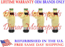 *Lifetime Warranty* Chrysler 2.0L 2.4L Bosch Fuel Injector Set of 4 - CDH240