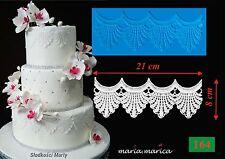 Silikonform silicone mold  lace (164) mould mold cake fondant sugarcraft