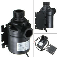 ZYW680 24V 800L/H 5M Water Circulation Pump Solar Water Pump Brushless Motor Kit