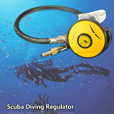 Second 2nd Stage Scube Explorer Diving Dive&Hose Regulator Octopus Hookah Yellow