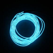 5M Flash Flexible Neon LED Light Glow EL Strip Tube Wire Rope Car Party Light FK