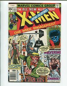 Uncanny X-Men #111 - Cockrum & Claremont - Circus Cover - Super Book!