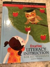 INSTRUCTOR'S COPY Creating Literacy Instruction for All Students (8th Edition)