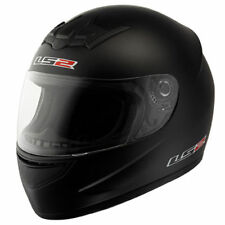 CASCO INTEGRALE  LS2 FF352 ROOKIE MATT BLACK NERO OPACO TAGLIA M