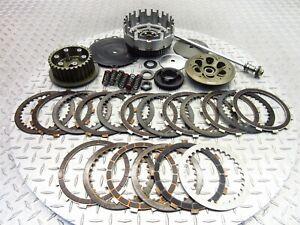 2002 00-04 Aprilia SL1000 Falco Lot Clutch Basket Inner Outer Plates Yoyodyne