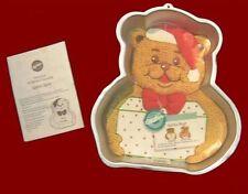 NEW! Wilton ***SANTA BEAR*** Cake Pan COMPLETE!! #4432