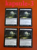 4x Evil Presence   New Phyrexia   MTG Magic Cards