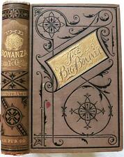 1876 1stED History Of The BIG BONANZA El Dorado Nevada Silver Gold Mining Indian