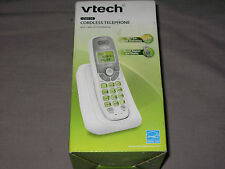 Vtech White Cordless Telephone Caller ID Call Waiting DECT 6.0 Digital Security