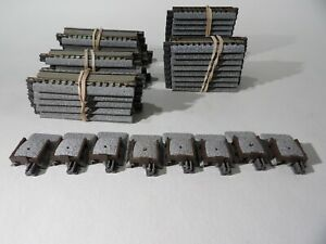 Kato N scale Assorted  Unitrack Expansion Straights & Uncoupler tracks & bumpers