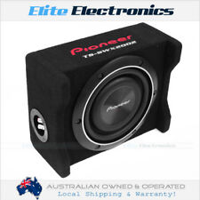 "PIONEER TS-SWX2002 8"" 4-OHMS 150W RMS SHALLOW LOADED SEALED SUBWOOFER ENCLOSURE"