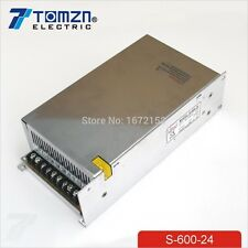 600W 24V adjustable 25A 220V input Single Output Switching power supply