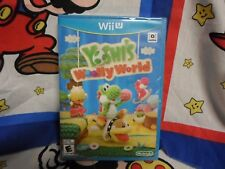 Wii U Yoshi's Woolly World Game BRAND NEW SEALED