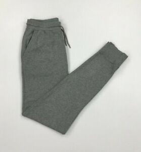 Men's Light Grey Boss Hugo Boss Joggers Small S Sweatpants Slim Fit Cuffed A