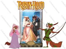 Robin Hood and Maid Marian Disney Designer Fairytale Collection Limited Edition