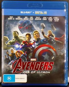AVENGERS - Age Of Ultron --- ( Blu-Ray + Digital )