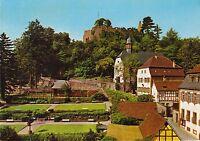 Lindenfels ( Odenwald ) , Kurgarten , Ansichtskarte