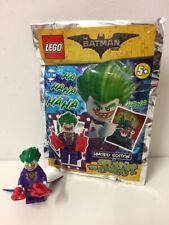 Lego Batman Joker Minifigura Edición Limitada Bolsa De Polietileno Dc Toys 211702 Nuevo y Sellado
