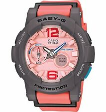 NEW G-Shock BGA180-4B2 Baby-G Series Stylish Women's  Watch - Orange / One Size