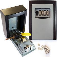Clave de seguridad de 4 dígitos Cerradura Segura/– nominal montado en la Pared al Aire Libre Resistente a la intemperie Caja