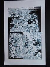 Avengers: Assemble #7 Page11 (Original Art) 2012 Mark Bagley! Hulk Smacks Thor!