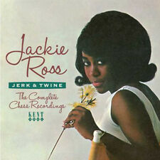 "JACKIE ROSS  ""JERK & TWINE - THE COMPLETE CHESS RECORDINGS""    24 TRACKS"
